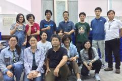 本系學生與日方學者們大合照